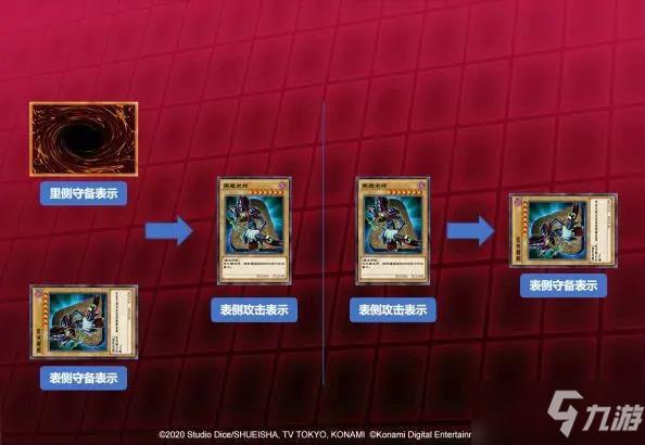 遊戲王決鬥鏈接怪獸表示形態介紹 怪獸表示形態講解