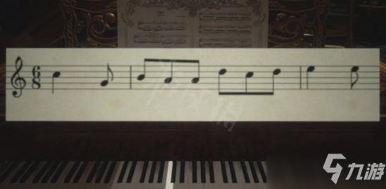 《生化危機8》鋼琴曲譜彈奏方法