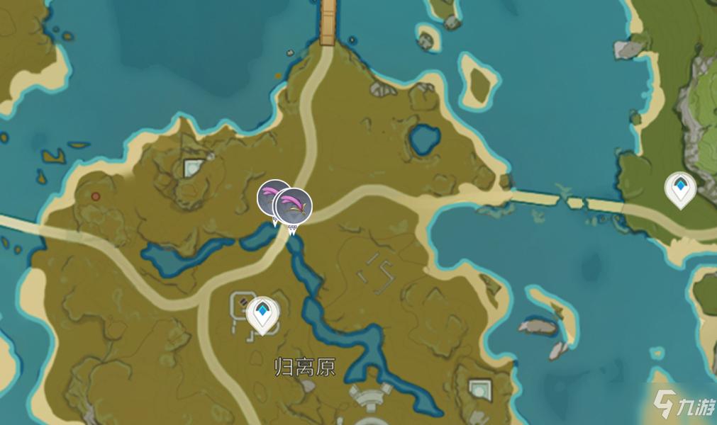 《原神》馬尾最新位置一覽