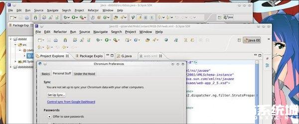 Ubuntu KDE桌面環境下Eclipse新建項目閃退的處理方法