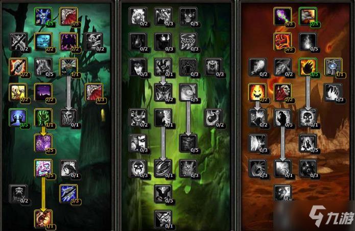 《魔獸世界懷舊服》術士天賦怎麼加點