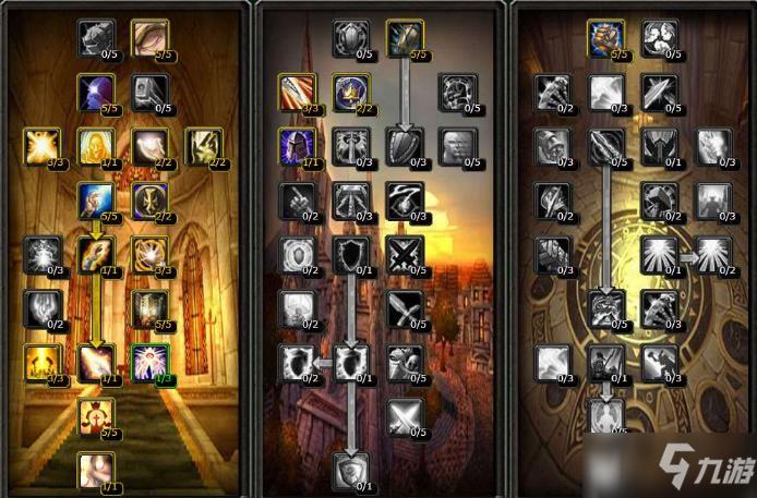 《魔獸世界懷舊服》聖騎士天賦點怎麼加