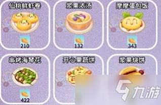 《摩爾莊園手遊》開心果蔬餅食譜配方介紹