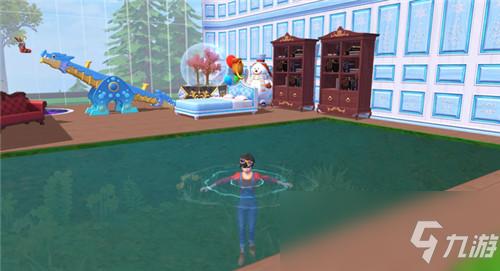 《創造與魔法》迷你水池制作方法介紹