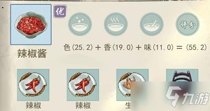 《江湖悠悠》辣椒醬食譜配方一覽