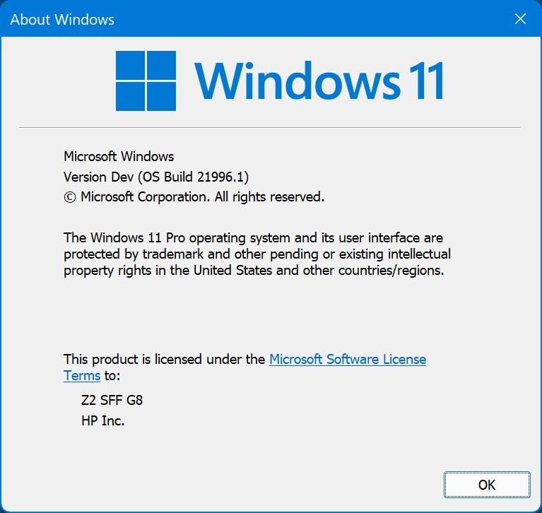 Win11最新內測體驗鏡像下載地址