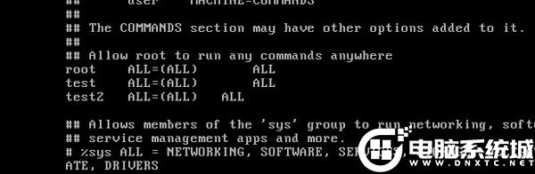 配置Linux系統sudo命令的權限解決方法