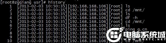Linux系統如何定制History輸出格式
