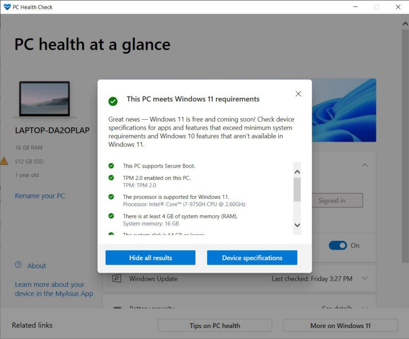WindowsPCHealthCheckSetup